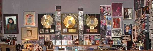 Our CD Wall