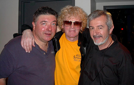Steve Holly, Ian Hunter, Jim Reeves