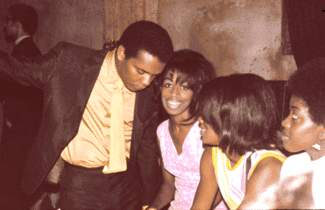 Johnny Nash With Fans